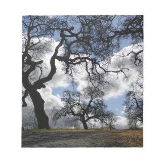 Many Spooky Trees Notepads
