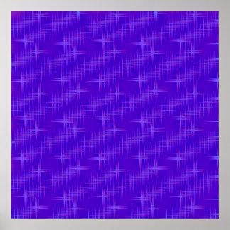 many stars,blue print