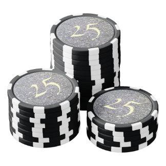 Many Stone Poker Chips