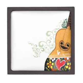 Many Symbols of Portugal - Portuguese Guitar Gift Box