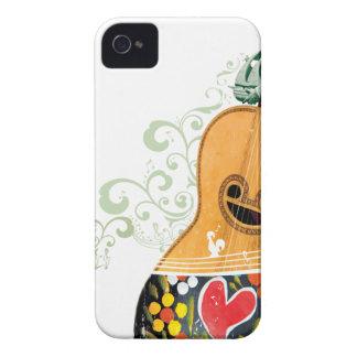 Many Symbols of Portugal - Portuguese Guitar iPhone 4 Case-Mate Case