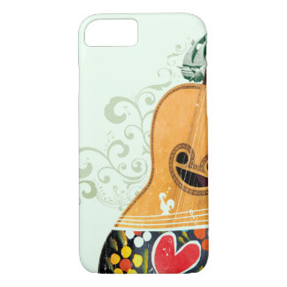 Many Symbols of Portugal - Portuguese Guitar iPhone 8/7 Case
