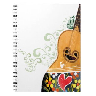Many Symbols of Portugal - Portuguese Guitar Notebook