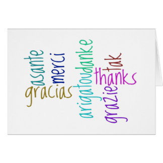 Many Thanks! Stationery Note Card