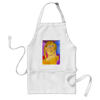 Many Thoughts Adult Apron