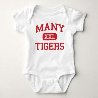Many - Tigers - Junior - Many Louisiana Baby Bodysuit