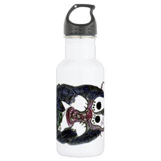 Many Toes Tickling a Ball of Yarn Stainless Steel Water Bottle