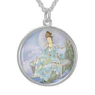 Many Treasures Avalokitesvara Sterling Silver Necklace