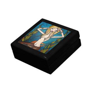 """""""Many Waters"""" Jewelry Trinket Box, Small"""
