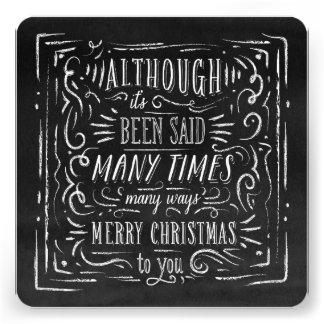 Many Ways   Holiday Photo Card