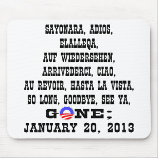 Many Ways To Say Goodbye To President Obama Mouse Pad