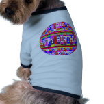 MANY ways to say HAPPY Birthday: by Naveen Dog Tee