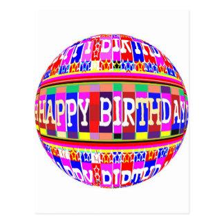 MANY ways to say HAPPY Birthday: by Naveen Postcard