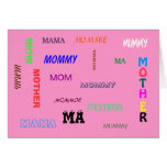 Many Ways To Say It Mother's Day Card
