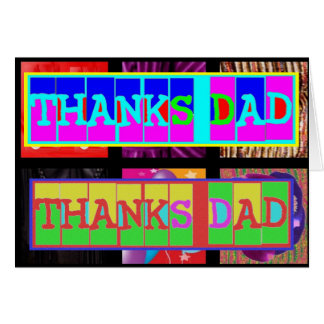 """Many ways to say """"Thanks Dad"""": by Naveen Card"""