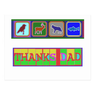 """Many ways to say """"Thanks Dad"""": by Naveen Postcard"""
