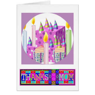 """Many ways to say """"Thanks Mom"""": by Naveen Card"""