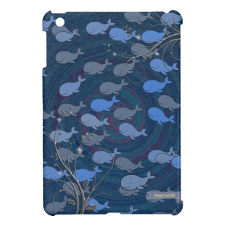 Many whales - sealife case for the iPad mini