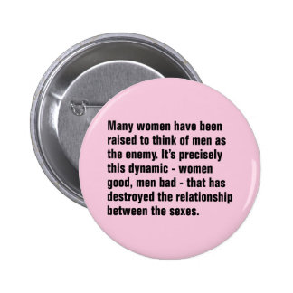 Many Women Have Been Raised To Think of Men … Button