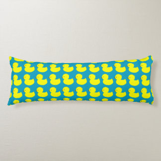Many Yellow Duckies Body Pillow