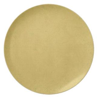 MANYTHANKS DESERT SAND CAMEL TAN NEUTRAL COLOR BAC PLATES