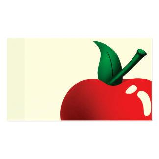 manzana al día tarjetas personales