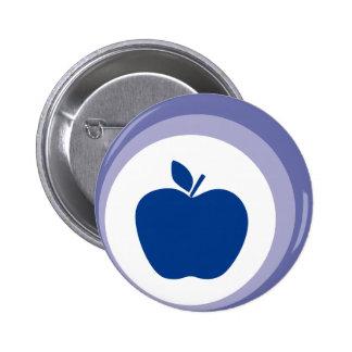 manzana azul pin