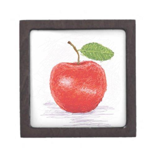 manzana caja de regalo de calidad