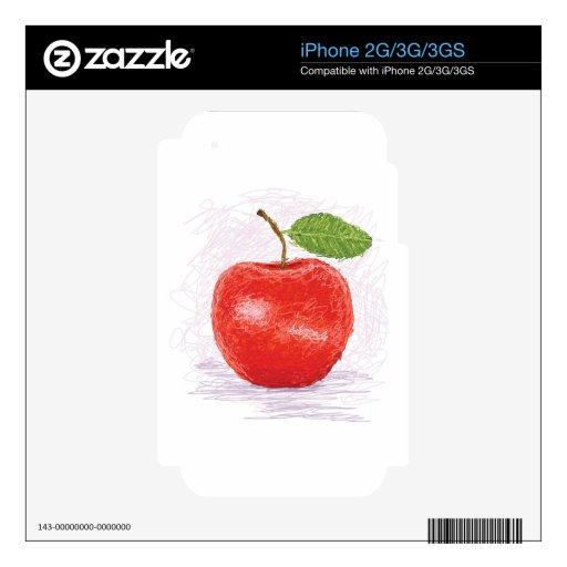 manzana calcomanía para el iPhone 3GS