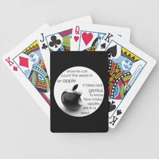manzana barajas de cartas