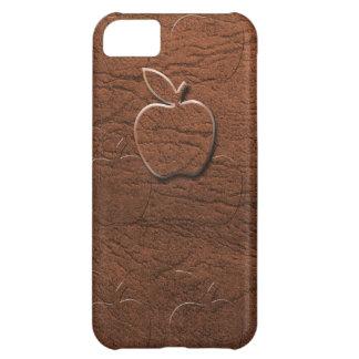 Manzana de cuero de Brown