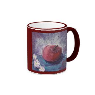 manzana de la primavera, A+¡, PROFESOR Taza De Dos Colores
