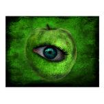 manzana de mi ojo tarjeta postal