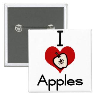 Manzana del amor-corazón I Pin