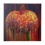 Manzana del vuelo tejas  ceramicas