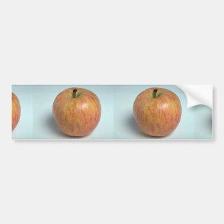 Manzana deliciosa de la gala etiqueta de parachoque