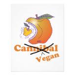 manzana divertida del vegano invitacion personal