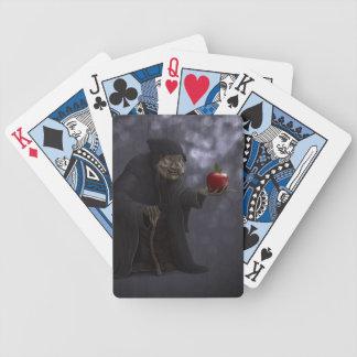 Manzana envenenada baraja cartas de poker