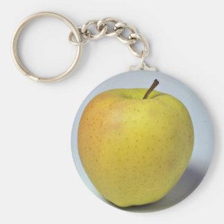 """Manzana """"golden delicious"""" deliciosa llaveros personalizados"""