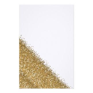 Manzana golden glitter  papeleria