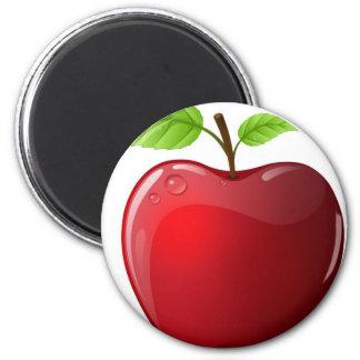 manzana imán redondo 5 cm