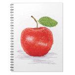 manzana libreta espiral