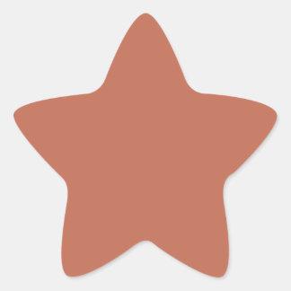 Manzana Reineta de Audubon Pegatina En Forma De Estrella