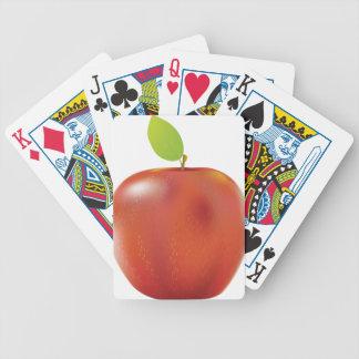 Manzana roja baraja