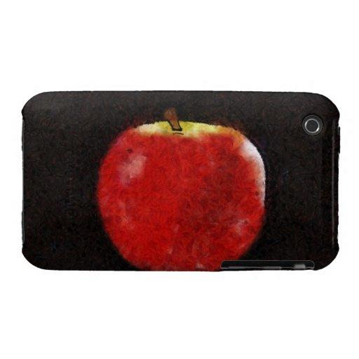 Manzana roja iPhone 3 Case-Mate funda