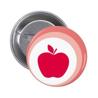 manzana roja pins