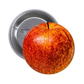 Manzana roja pin redondo de 2 pulgadas