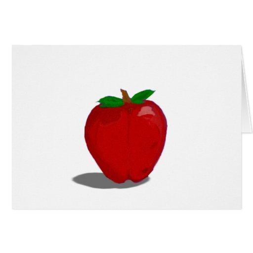 manzana tarjetas