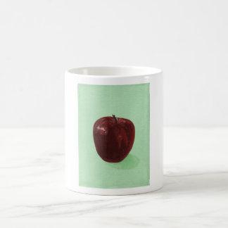 manzana tazas de café