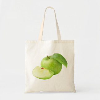 Manzana verde bolsa tela barata